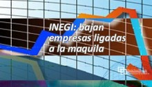 INEGI: bajan empresas ligadas a la maquila